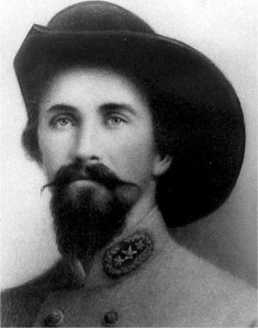 Confederate General John Hunt Morgan.
