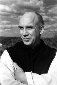 Thomas Merton at the Abbey of Gethsemani in Kentucky.