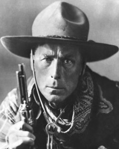Wiliam S. Hart, one of the first iconic movie cowboys.