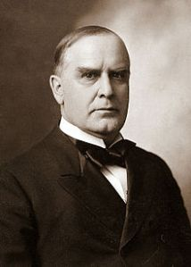 President William McKInley, one of many U.S. Presidents with Scots-Irish ancestry.