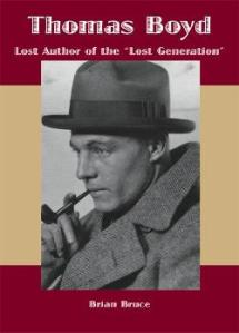 Photo of Tom Boyd on the cover of Brian Bruce's Thomas Boyd: Lost Author of the Lost Generation.