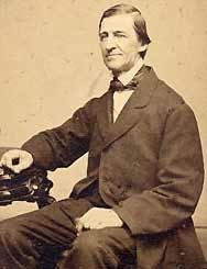 Emerson at the age of fifty.