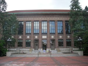 Hatcher graduate library at the University of Michigan. (Photo courtesy of Michael Barera through Creative Commons).