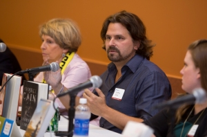 Suspense novelist Gregory Girard at last year's Books By The Banks.