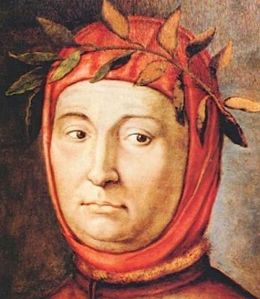 "A look to consider for your book jacket photo? The great Italian writer Boccaccio, famous for his ""Decameron."""
