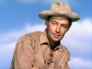 Alan Ladd as Shane.
