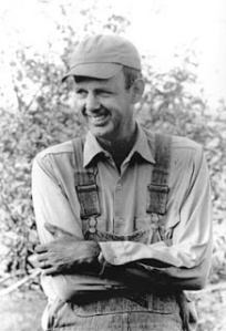 Wendell Berry as a young man.