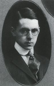 Thurber as a young man.