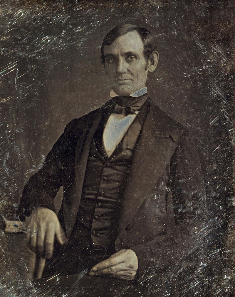 Abraham Lincoln By Nicholas Shepherd 1846 Crop