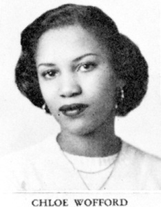 Toni Morrison as a young woman (Image credit: Colorlines).