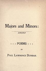 """Majors and Minors,"" 1895."