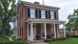 The William Holmes McGuffey House in Oxford, Ohio near Miami University. McGuffey assembled the first of his Readers here.