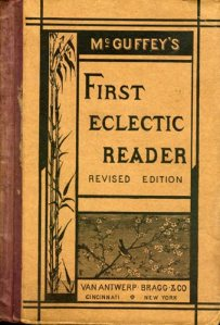 A later edition of McGuffey's First Eclectic Reader (Image credit: Hoover Archives).