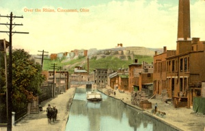 Another view of Over-the-Rhine, courtesy of the University of Cincinnati archives.