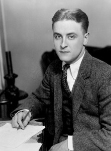 F. Scott Fitzgerald in 1921.
