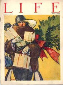 Christmas issue of the old Life Magazine (Image credit: Pinterest)