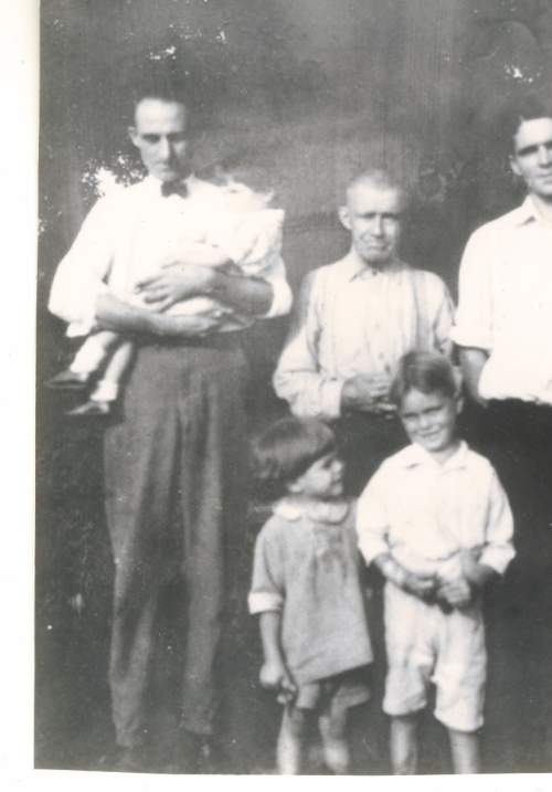 "My great grandfather Jack Kerin, in the center of this photo, immigrated to the U.S. from Ireland in the 1870s. He ended his days in Mount Vernon, Ohio as a ""ruptured night watchman. (Family photo)"